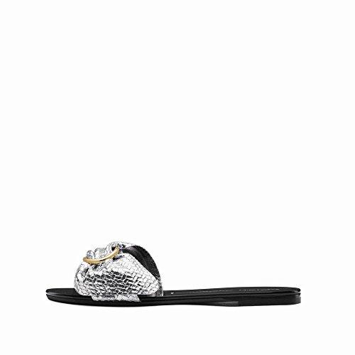Ouvert Plates Sandales Couleur Pantoufles Pur NSX Arc Femmes Toe B Été Chaussures pfwI6TqRx