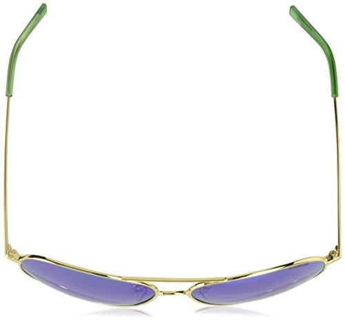 Gafas K7 de N J5G Adulto Sol 6012 62 Gn PLD Dorado Green Gold Unisex Polaroid XwpxYqn