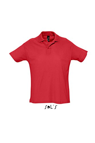 SOL´s Summer Poloshirt Red, L