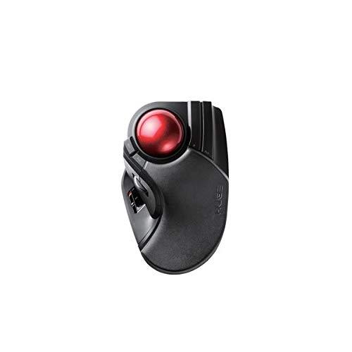 エレコム ワイヤレストラックボール(人差し指 中指操作タイプ) M-HT1DRBK AV デジモノ パソコン 周辺機器 マウス マウスパッド 14067381 [並行輸入品] B07L7P6PHJ
