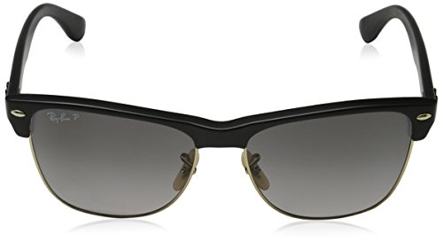 RB CLUBMASTER 4175 Ray Gloss OVERSIZED Sonnenbrille Ban Demi Black wZxICqUa