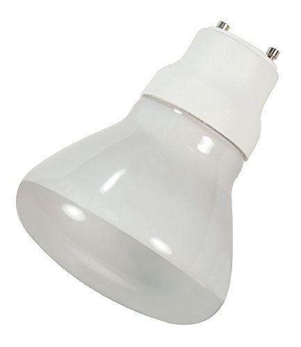 Satco 15R30/27/GU24 Compact Fluorescent Reflector, 15W GU24 R30, Bulb [Pack of 6]