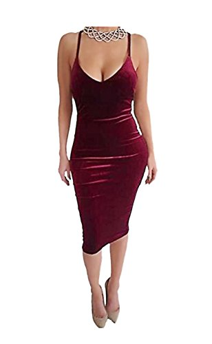 Carprinass Womens Sleeveless Bodycon Bandage product image