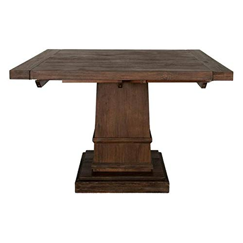 Rustic 44'' - 64'' Square Meeting Table in Java