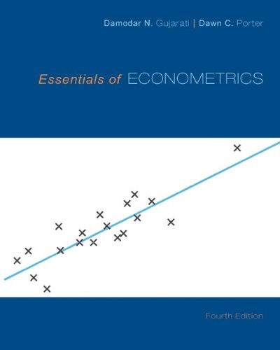 Essentials of Econometrics by McGraw-Hill Education