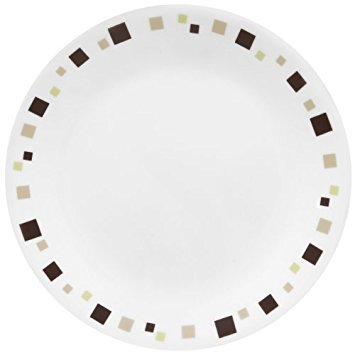 Corelle Livingware 8-1/2-Inch Luncheon Plate, Geometric Home Supply Maintenance Store