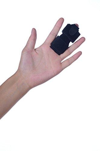 MedicHelp® Multipurpose Finger Splint Tendon Release & Pain Relief   Perfect For Trigger Finger, Mallet Finger, Fractured/Broken Finger, Straightening Curved & Locked Finger   Adjustable   UK (Neoprene Mallet)