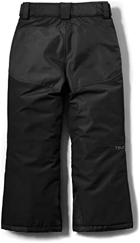 TSLA Youth Winter Cargo Snow Pants, Waterproof Insulated Ski Pants, Windproof Ripstop Snowboard Bottoms