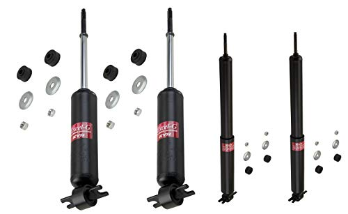 KYB Excel-G Front & Rear Suspension Shock Absorbers Kit for Chevrolet Camaro Pontiac Firebird 1970-1981