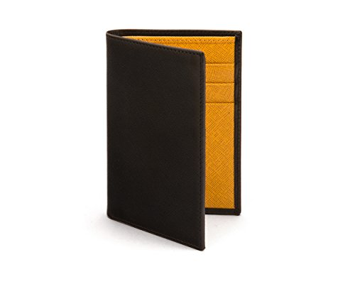 Wallet With With 6 Card SAGEBROWN Wallet Slim Card Credit Credit Black Yellow Black Slim 6 Yellow SAGEBROWN Oq1AA