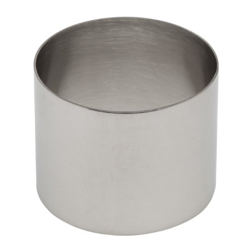 Ateco 4951 Stainless Steel Ring Mold, 2.75 by 2.1-Inches High, Compatible with 4950 Food Molding Set
