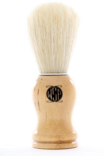 Boar Bristle Shaving Brush High Density Wood Handle by WSP