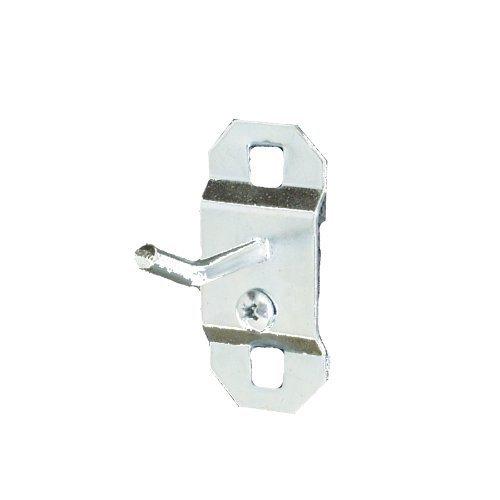 トリトン製品51113 LocHook 1インチシングルロッド30-degree曲げ3 / 16インチ直径亜鉛メッキスチールペグボードフックLocBoardの、5 - Pack byトリトン製品   B017N3277U
