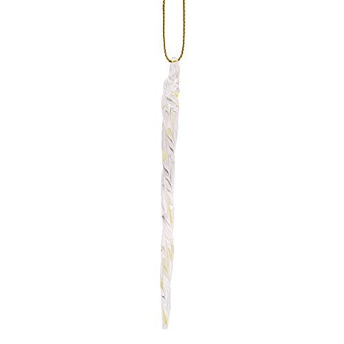 Kurt Adler 5-1/4-Inch Glass Glow-in-the-Dark Icicle Ornament Set of 24 by Kurt Adler (Image #1)