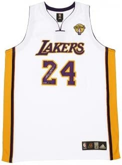 Kobe Bryant Autographed White Lakers