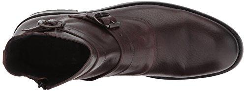 FRYE Men's Stanton Moto Motorcycle Boot, Dark Brown, 8.5 D US by FRYE (Image #8)