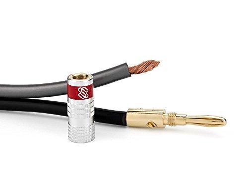 sewell silverback banana plugs 24k gold dual screw lock speaker connector 12 pairs buy. Black Bedroom Furniture Sets. Home Design Ideas