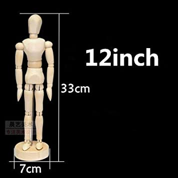 Amazon Com Zamtac Wooden Wood Mannequin Hand Movable Limbs