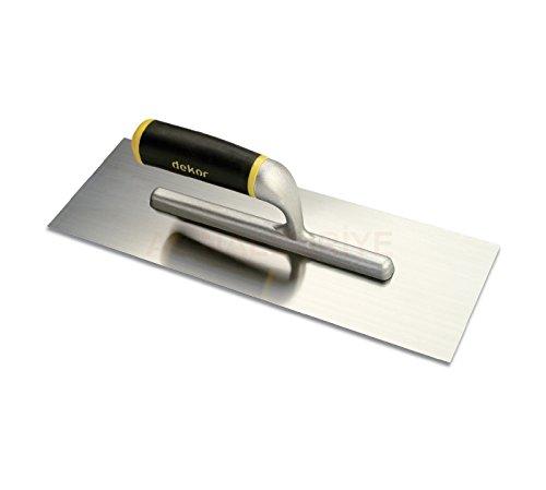 DEKOR GERMAN - Trollo de acero inoxidable para manillar de aluminio, 30,48 cm