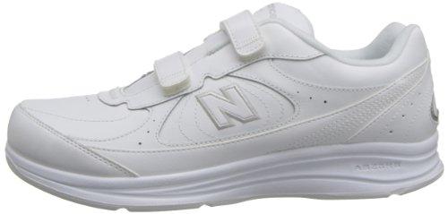 Et Mw577 vw Homme Cuir Chaussure Blanc Pour New Marche Balance De Boucle Crochet En pXnTqAzO