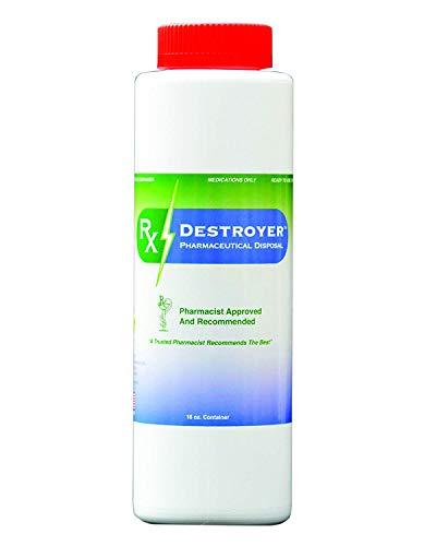 Rx Destroyer Pharmaceutical Disposal System - RX16 - Drug Disposal System, 16 oz (1)