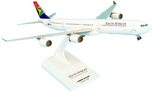 - Skymarks SKR180 South African Airways Airbus A340-600 1:200 clip-together model by Daron World Wide Trading