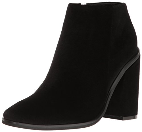 Women's Ankle Boot Velvet Black Sana Holly Sol Bootie Zqwnp465