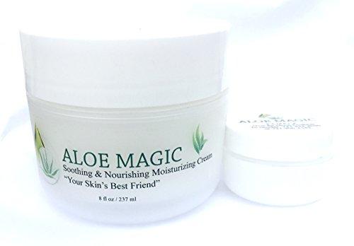 ALOE MAGIC - All Purpose Skin Cream - With Aloe (Rejuvenate Facial Lotion)