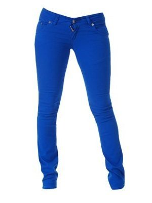 Jist Royal Blue Skinny Jeans: Amazon.co.uk: Clothing
