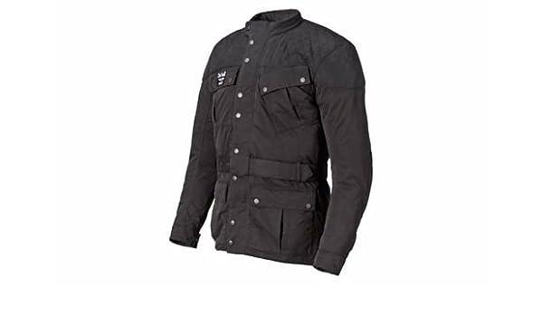 Triumph acolchada Barbour chaqueta negro hombres de Tamaño Grande: Amazon.es: Coche y moto