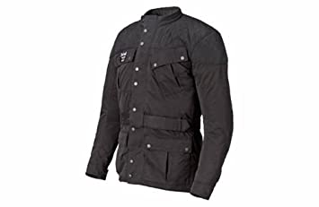Triumph acolchada Barbour chaqueta negro hombres de Tamaño ...