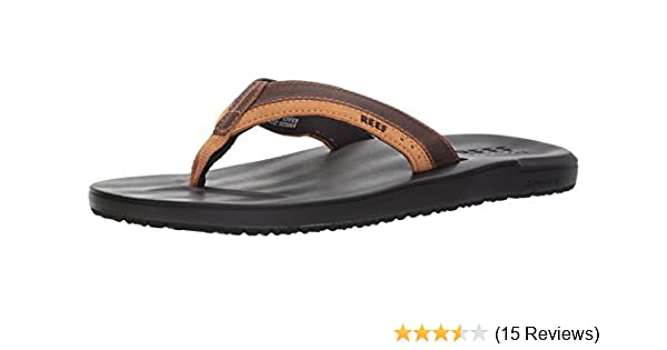 612c7b608eec Amazon.com  Reef Men s Contour Cushion LE Sandal  Shoes