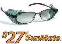 Sunmate Smoke Clip On Side Shields - - Glasses Shields Side