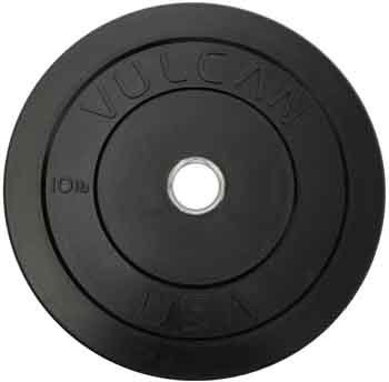 Bumper Plate (Set of 2) Weight: 15 lbs by Vulcan Strength Training Systems