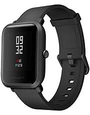 Amazfit Bip Xiaomi Smartwatch hartslagmeter GPS fitness activiteitentracker stappenteller waterdicht International Version Black