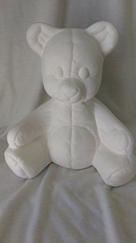 Ceramic Bisque Teddy Bear - Soft Sculpture Teddy Bear 9