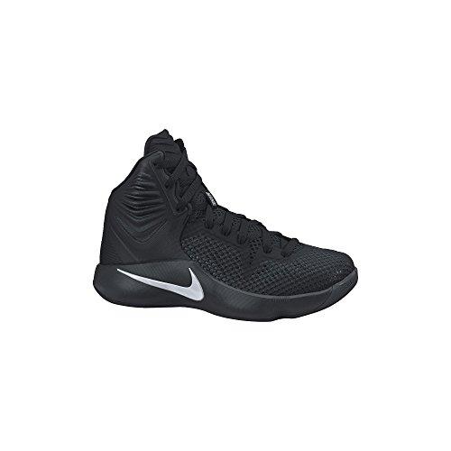 mens nike zoom hyperfuse 2014 basketball shoe blackwhite