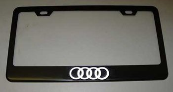 audi-4-ring-logo-black-license-plate-frame