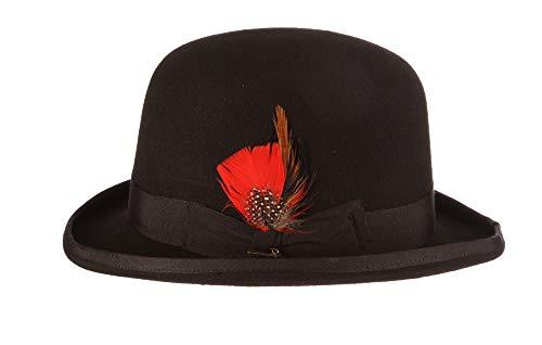 a703bb65 Scala Men's Wool Felt Derby Hat at Amazon Men's Clothing store: