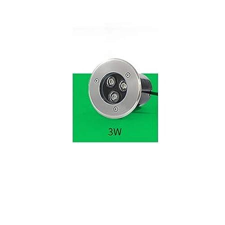 Lexluy Lámpara subterránea LED de 12V / 24v Bajo Voltaje 3W ...