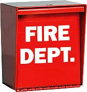 Eagle 2000 Fire Department Lock Box with Pad Lock Hole