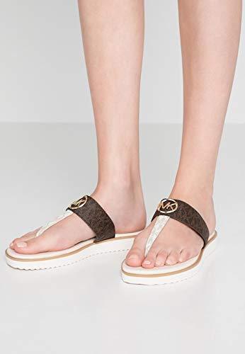 Michael Kors 迈克高仕 40S9LIFA2B 女式人字拖鞋 ¥407