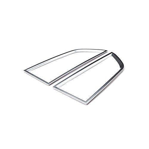 Silver Centre Console Air Vent Outlet Cover 2pcs For Porsche Macan 2014-2017
