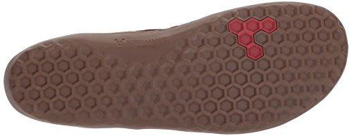 Vivobarefoot Mens Scott Dentelle Casual Botte Hiver Up Thermique Tennis-chaussures Tabac