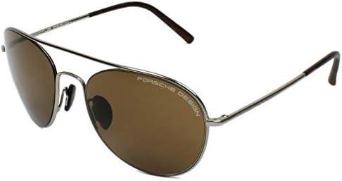 Porsche Design Sonnenbrille (P8606) Argenté (Silber)