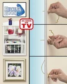 hercules hook wall hanger. Black Bedroom Furniture Sets. Home Design Ideas