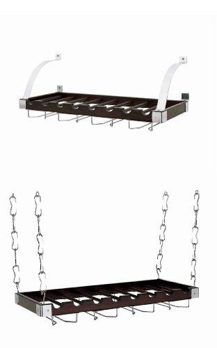 hanging ceiling wine rack - 3