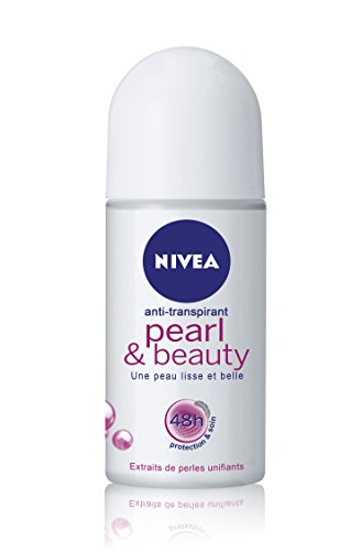 Nivea Pearl & Beauty Roll-On Deodorant (50 ml) - Soft Deodorant Roll
