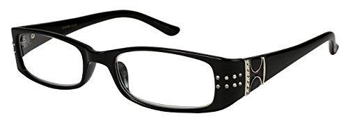 Glitzy Glass (Edge I-Wear Glitzy Reading Glasses 31914R-+1.50-1 ( Black ) by Edge I-Wear)