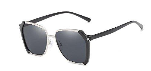 Pièce inspirées de métallique Complète du polarisées soleil cercle en vintage style Lennon Grise rond lunettes retro xCdOwqTw